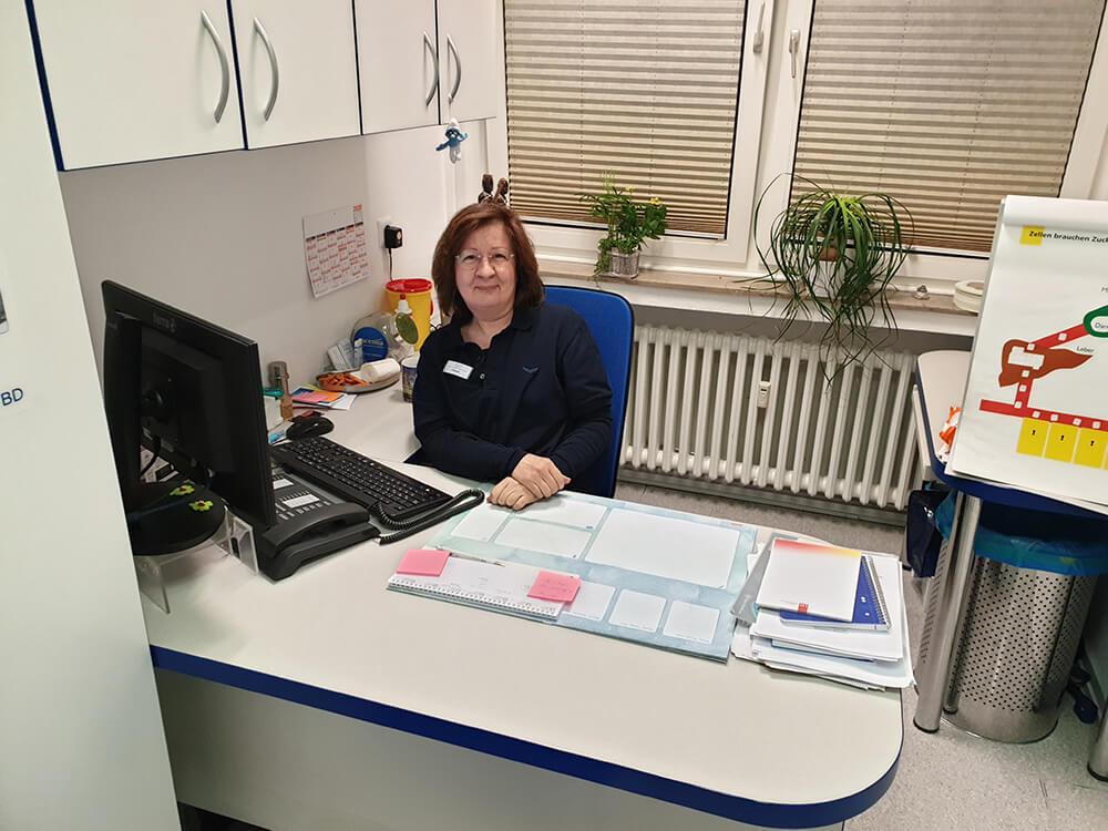 Unsere Diabetesberaterin Frau S. Klanke