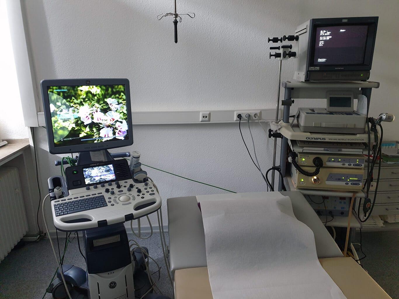 Sonographiegerät für Ultraschalluntersuchungen